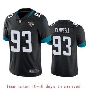 Mens Jaguars #93 Calais Campbell Jersey